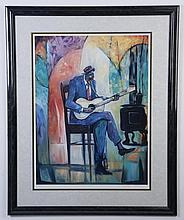 William Tolliver signed lithograph