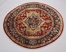 Handknotted Serapi rug, 73