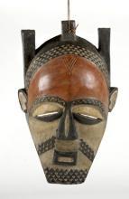 Vintage African tribal mask, 24