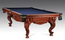 Peter Vitalie designed elephant head pool table