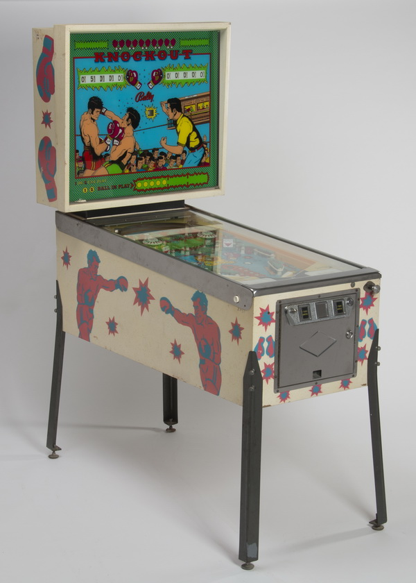 1975 Bally upright pinball machine,