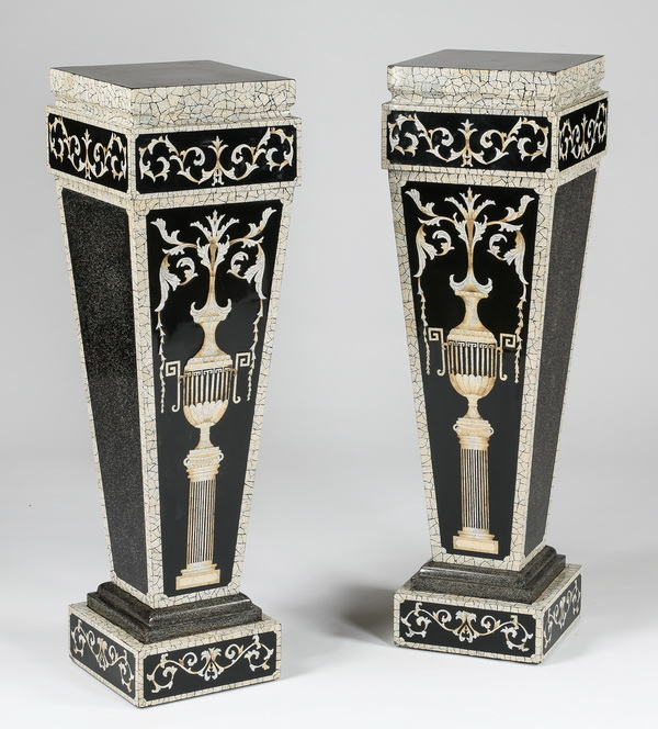 (2) Neoclassical inspired pedestals, 43