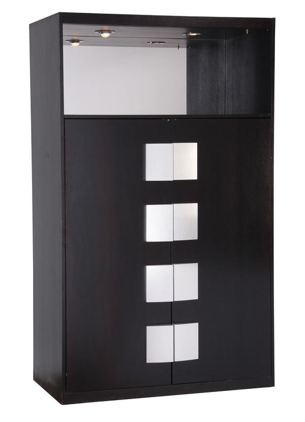 Italian Moderne ebonzied cabinet, 81