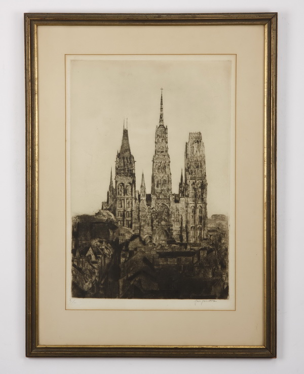(3) Late 19th and 20th c. framed works