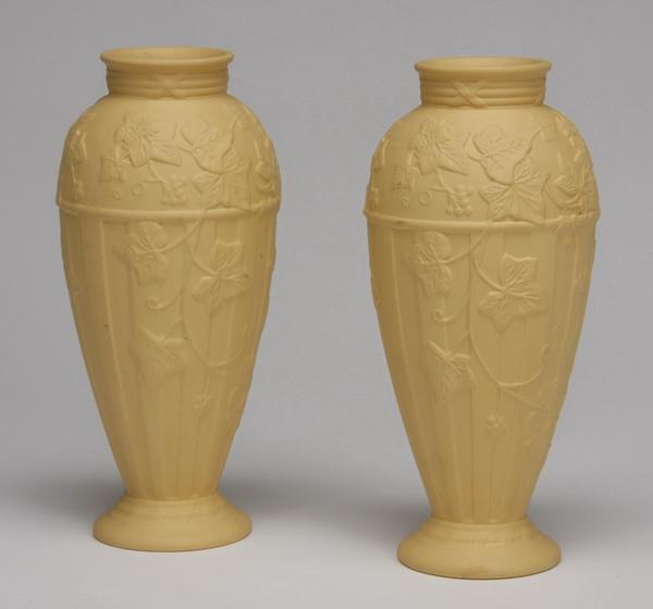 (2) Wedgwood jasperware vases