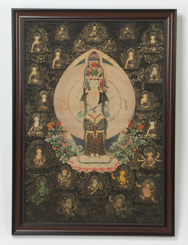Tibetan thangka of Avalokiteshvara, 39