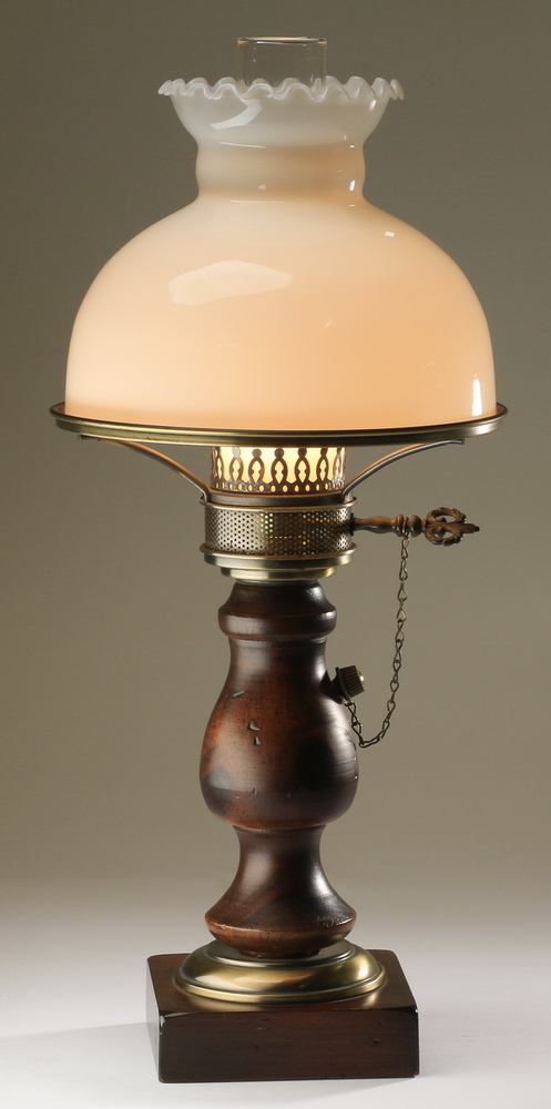 Victorian style table lamp, 23