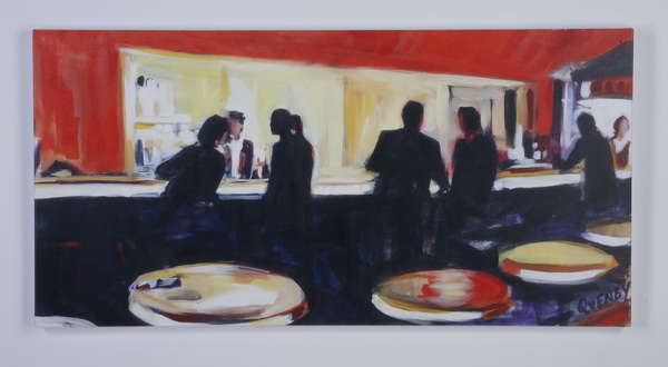 Contemporary unframed giclee'