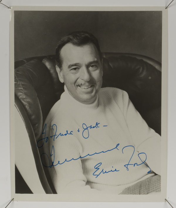 Autographed photo of Ernie Ford, 10