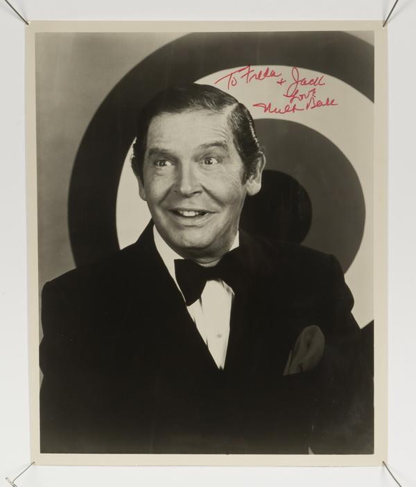 Milton Berle autographed photograph, 10