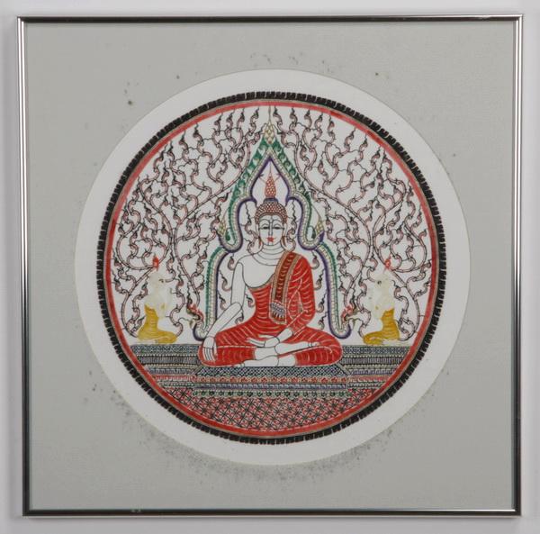 Southeast Asian jianzhi, with Buddha