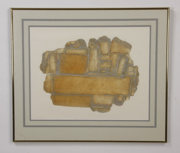 Limited edition intaglio lithograph, signed, numbered