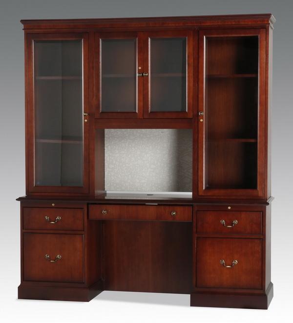 Contemporary mahogany cabinet