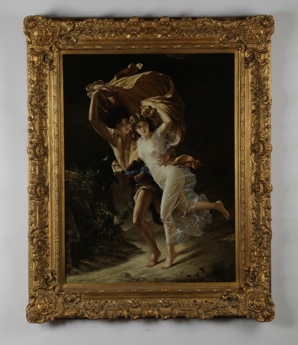 Giclee of 'The Storm' after Pierre-Auguste Cot, 51