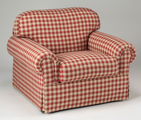 Upholstered club chair, 40