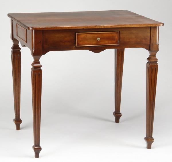 19th c. English mahogany table