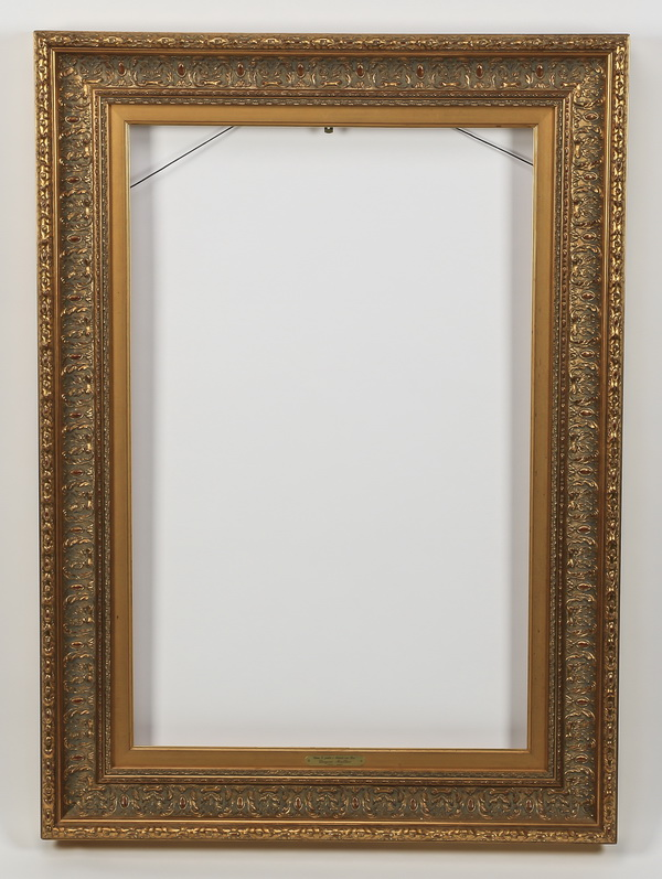 Carved gilt wood frame, 47