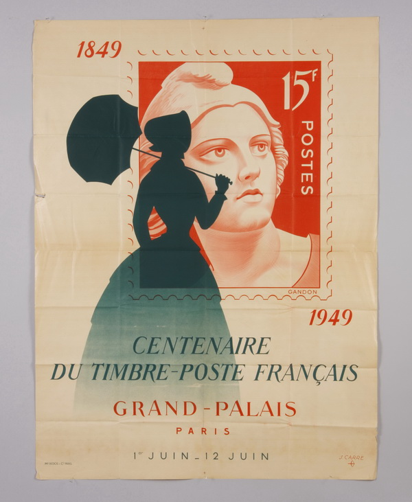 Original vintage unmounted French poster