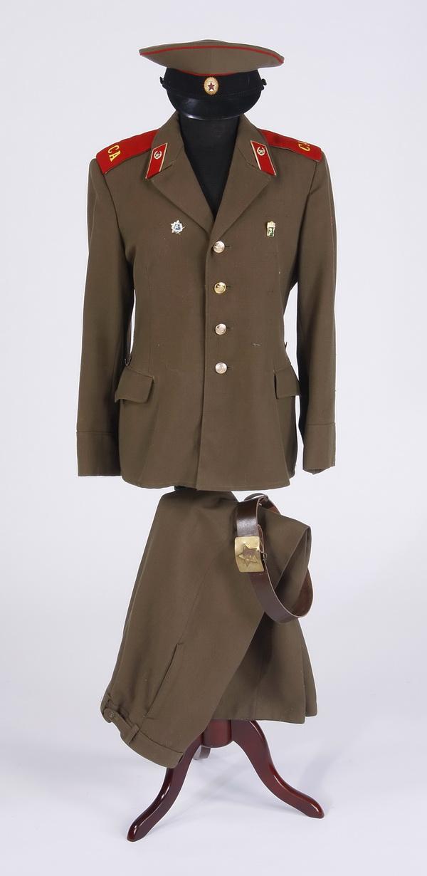 Cold War era Soviet military uniform