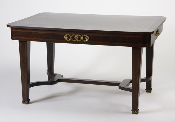 French parquetry inlaid table