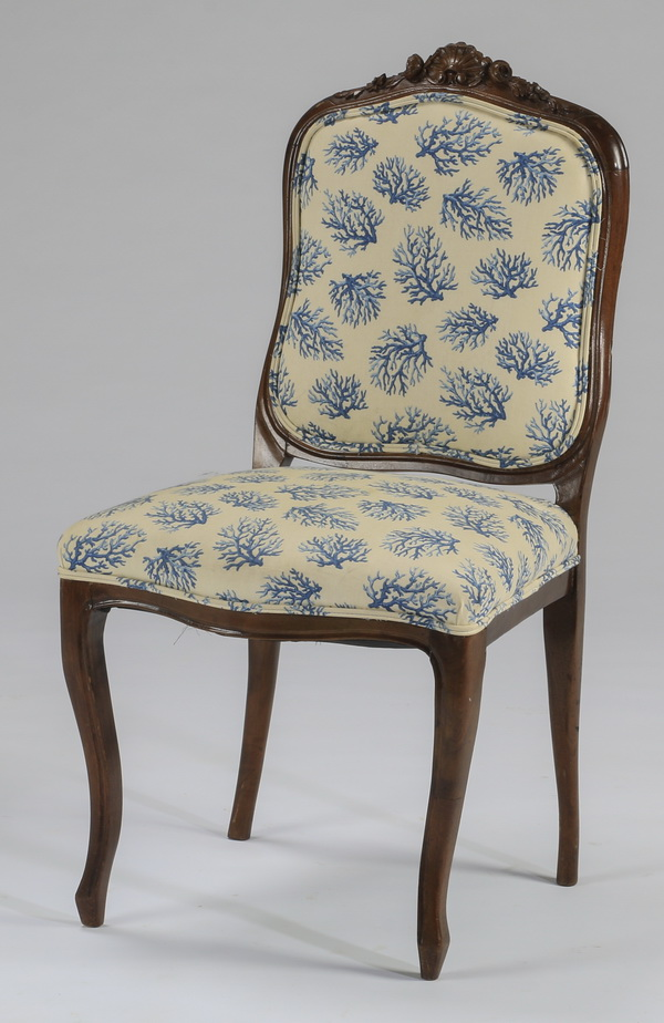 French Provincial side chair, 35