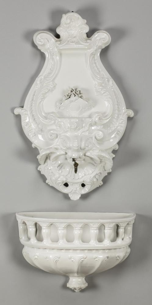 Italian porcelain lavabo in the Rococo taste, 41