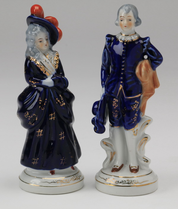 (2) Made in Occupied Japan figurines, 7.25
