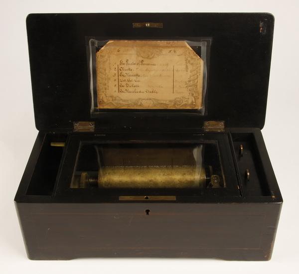 19th c. Swiss cylinder music box