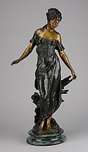20th c. bronze sculpture, after Moreau