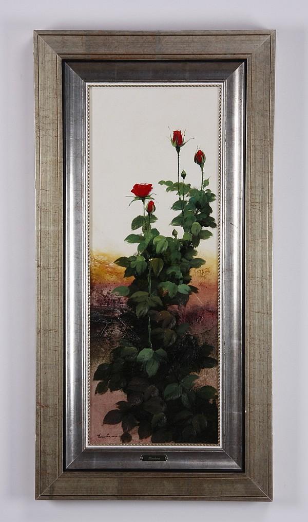 Jose Barbera signed oil on canvas