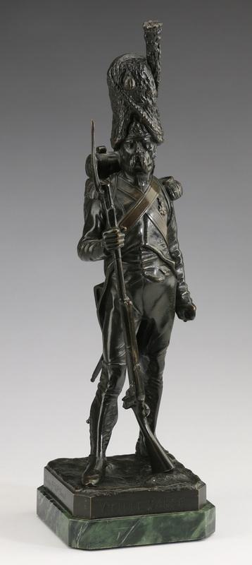 Armand Jules Le Véel bronze,