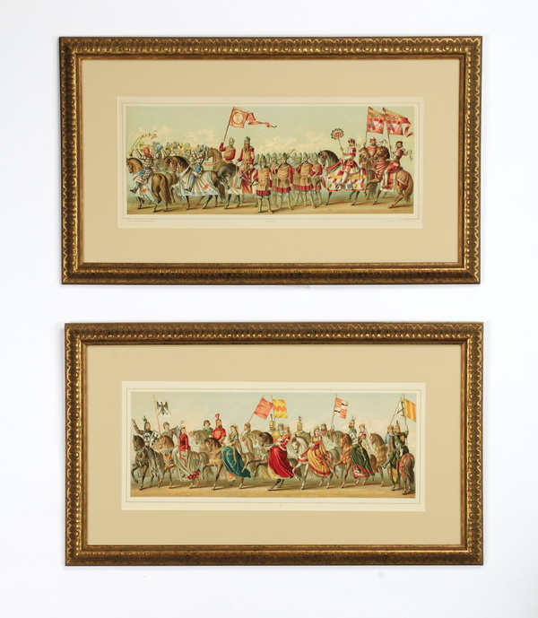 (2) German lithos, after Avenarius, c.1880