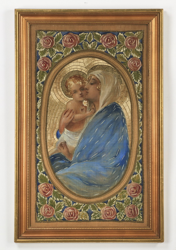 Embroidery of the Madonna & Child, 38