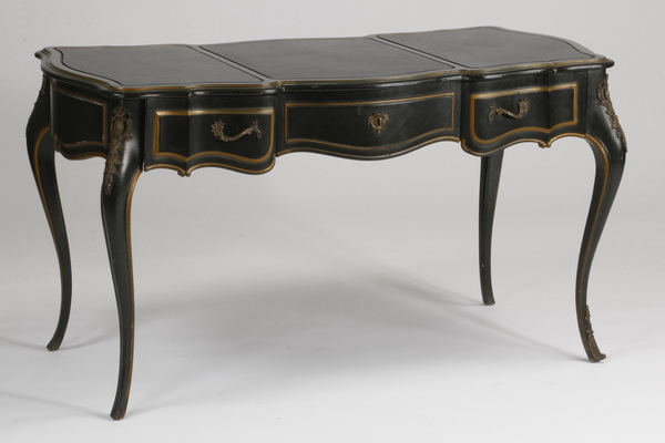 Early 20th c. bronze mounted desk, 54