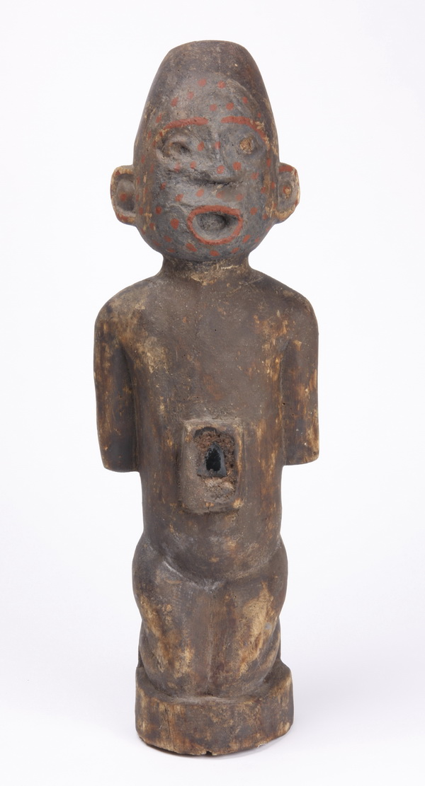 Hand carved fetish sculpture, Kongo tribe