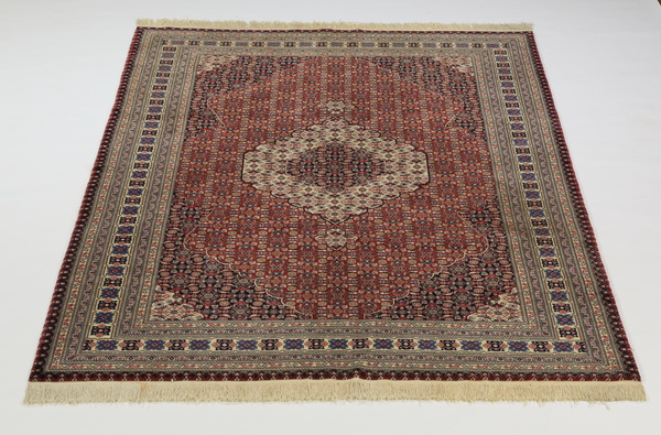 Hand knotted Tabriz wool carpet, 6 x 9