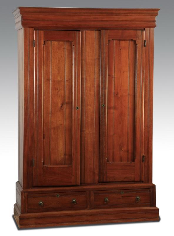 Victorian two-door cabinet, 19th c., 85