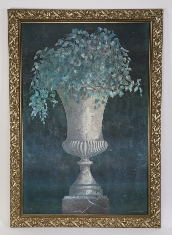 Oversized Neoclassical style giclee, 68