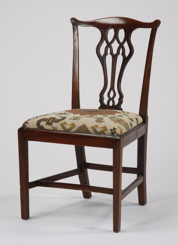 Early 20th c. Chippendale inspired chair
