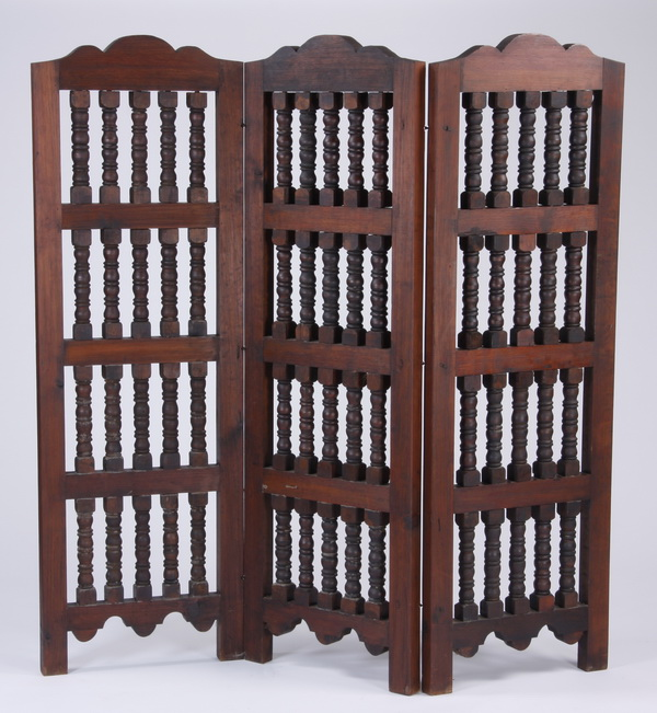 Handcrafted Spanish style room divider