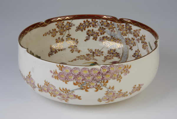 Early 20th c. Satsuma bowl, 9