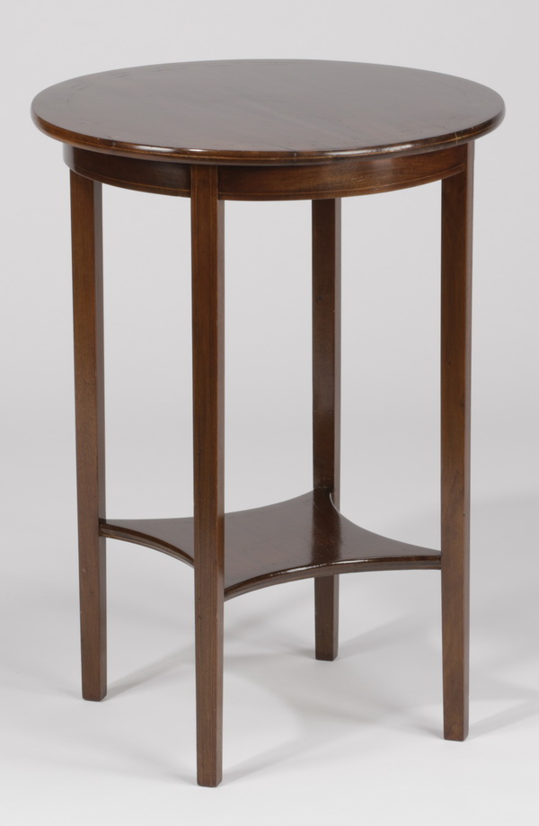 19th c. Louis XVI style rosewood side table, 28