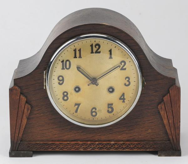 Art Deco inspired mantel clock
