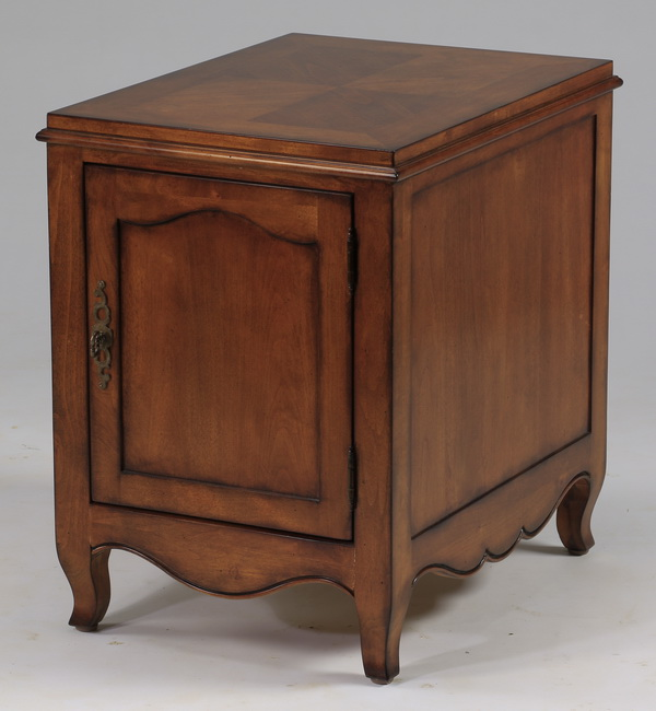 French Provincial style side cabinet, 25.5