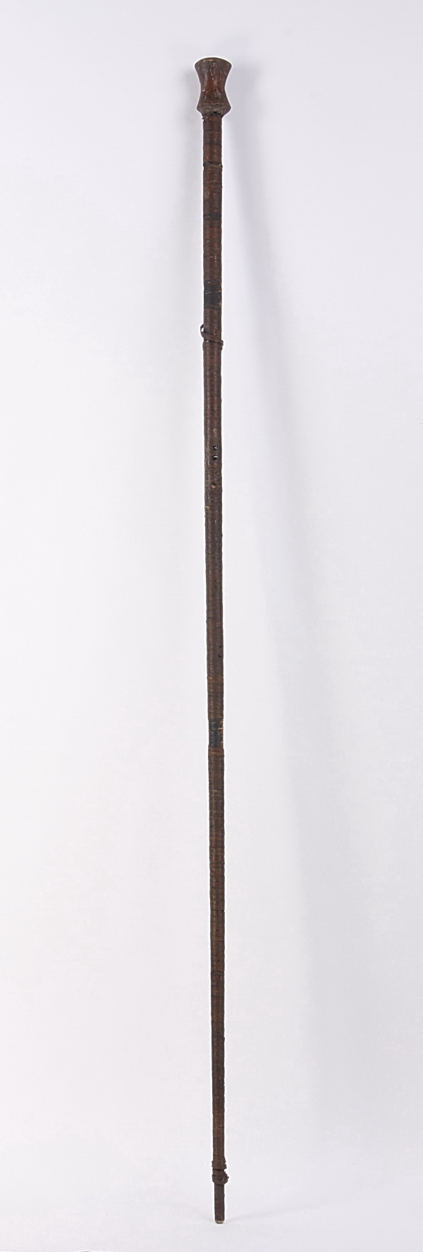 Hand carved African blowgun, 78