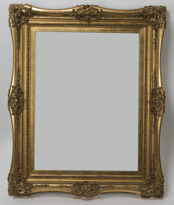 Rococo style carved gilt wood frame, 40