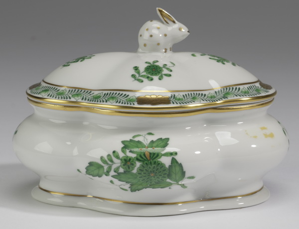Herend 'Chinese Bouquet' trinket box, 4