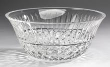 Waterford cut crystal center bowl, marked, 9