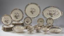 67pc Lenox dinnerware set, Ming pattern