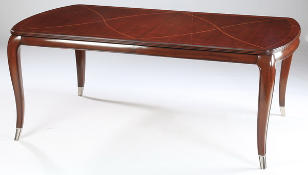 Art Deco style dining table w/ two leaves